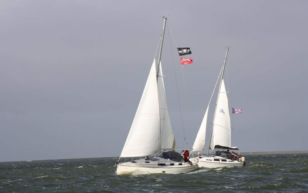Boote beim Herbstsegeln 2020