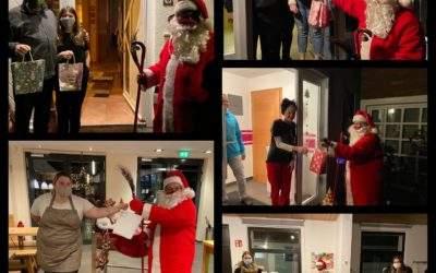 Der Nikolaus in der Grenzlandjugend