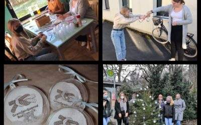 Unser Beitrag zum Roetgener Weihnachtswald